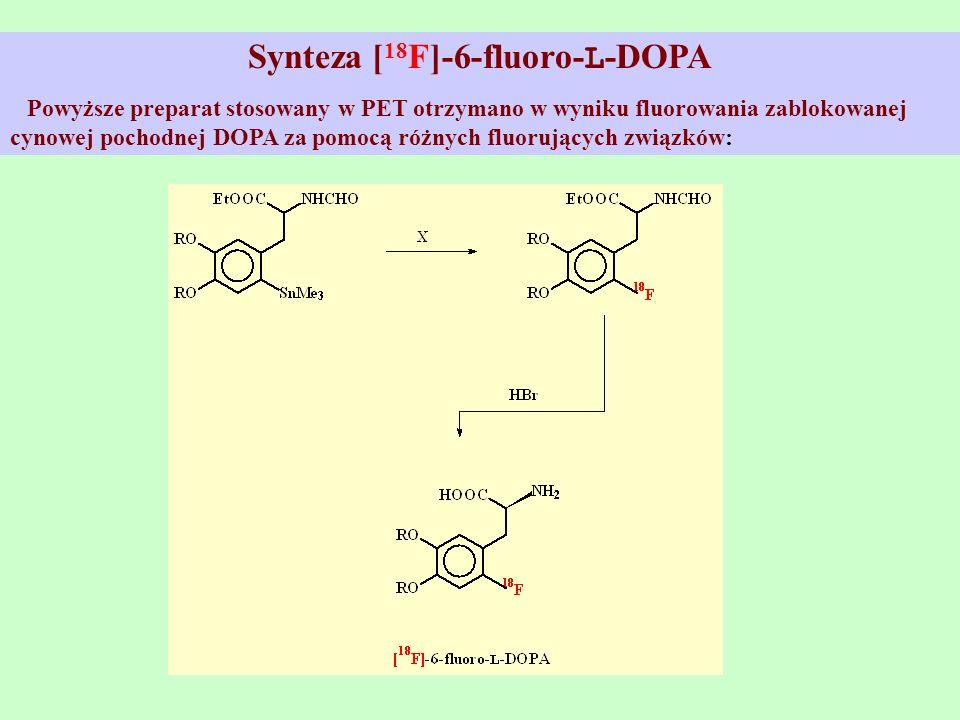 Synteza [18F]-6-fluoro-L-DOPA